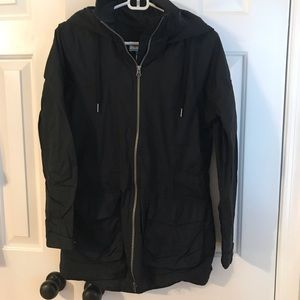 Columbia Omnitech Fleece-lined Raincoat
